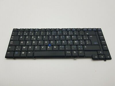 hp compaq nc6400 laptop keyboard / clavier azerty original