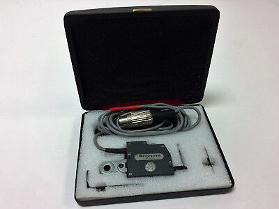Mitutoyo M499 Indicator Inspection Gauge Head For Readouts With Carrying Case