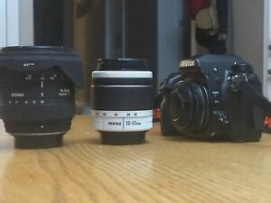 Pentax K5 and lenses