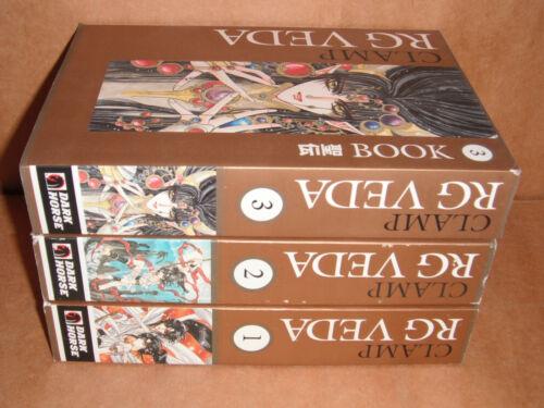 RG Veda Manga Omnibus 1,2,3 Complete Set Manga Set English