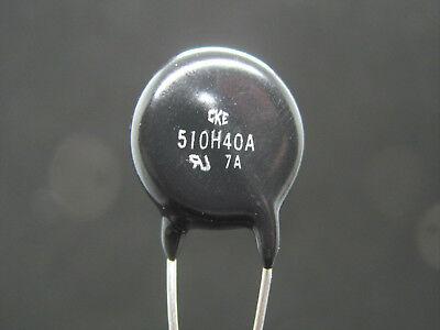 510vac 670vdc - 165 Joules - Metal Oxide Varistor - Cke Z510la40ah Nos