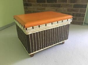 Retro Storage Box Seat or Foot Stool Avalon Pittwater Area Preview