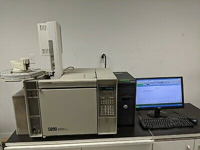 Hp 5890 Gc With 1 Ecd 1 Ssl Autosampler Computersoftware Tested Work