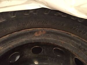 For sale! Four Winter Tires on Rims London Ontario image 3