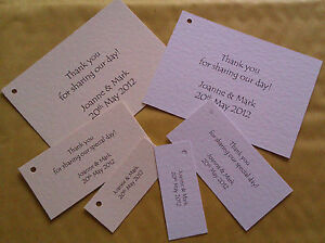 25-PERSONALISED-WEDDING-FAVOUR-CARDS-TAGS-SMALL-MEDIUM-OR-LARGE
