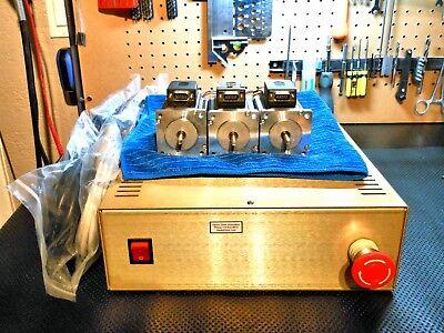 Gecko G540 Cnc Motion Control System 48v 12.5a 3 Nema 23 600oz In 3.5a Motors