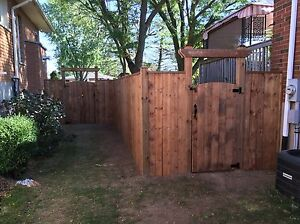 Fences Decks Pergola Stratford Kitchener Area image 10