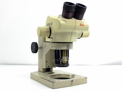 Leica Gz6 0.67x - 4x Microscope Head With Focus Block - As Is - For Partsrepai
