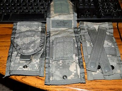 3 lot  ACU Double Mag PouchS USGI MOLLE II NEW