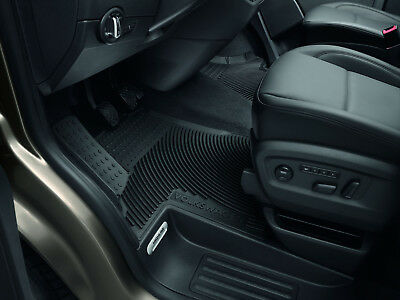 Gummi Fußmatten hinten 3-teilig  VW T5 Multivan PVC Gastraum Gummimatten