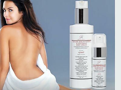 Body Daily Use Face - Lightening Bleaching Whitening Body & Face Skincare All Natural & Safe Daily Use