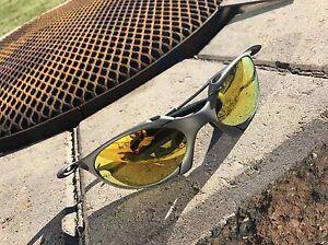 Oakley Romeo 1 Xmetal Polarized Fire lens Regina Regina Area image 1
