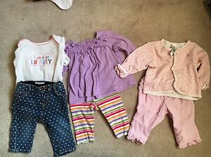 Huge lot of girls 3-6 months clothes