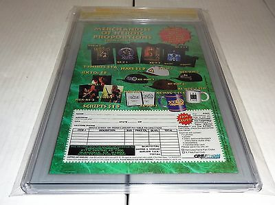 X-Files #29 CGC SS 9.8 Signature Autograph DAVID DUCHOVNY Signed Topps Comics 🔥 4