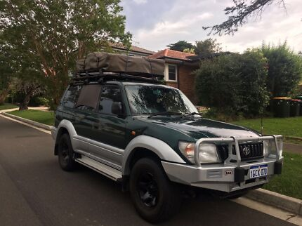 1997 Toyota Landcruiser V6 dual fuel with rooftoptent