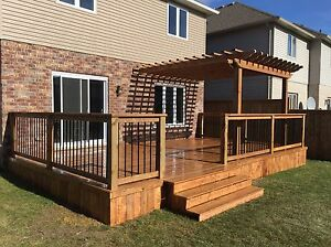 Fences Decks Pergola Stratford Kitchener Area image 5