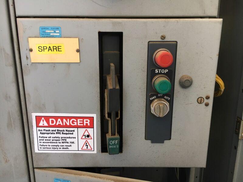 "Sylvania / Clark 6200 12"" Motor Control Bucket Size 2 Starter THED136030 Breaker"