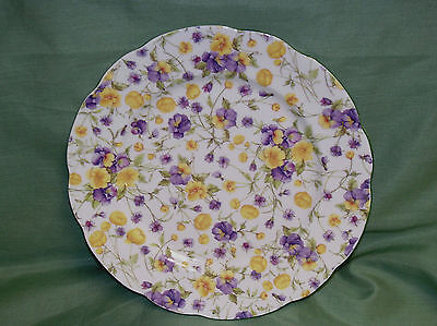 English Bone China~EMILY CHINTZ~Dessert Plate  ~Made in England~New