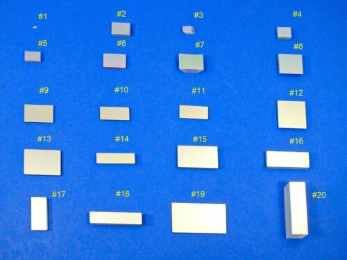 Rectangular Selection Quality First Surface Mirrors, IOS Over-run Optics (BK7,FS
