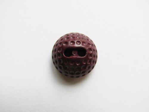 Vintage Colt Manufacturing Button Golf #35 Maroon Plastic Colt Button Golf Ball