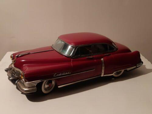 "1951 cadillac 12"" japenese tin car by marusan"