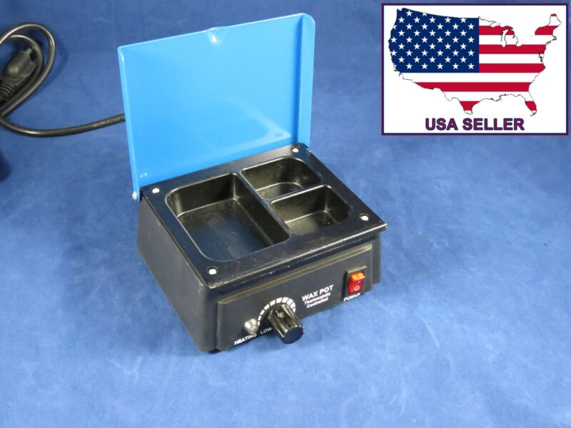 Dental Lab Wax Heater Pot 3 Compartment 110V 013-1 DentQ