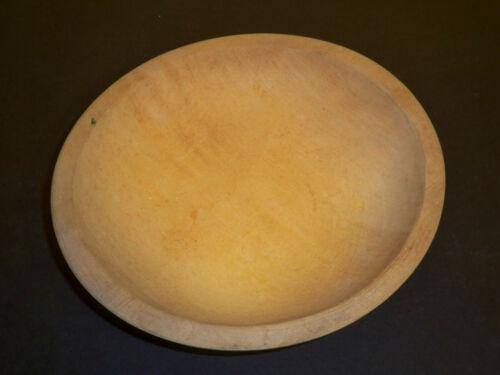 Vintage Antique Signed Munising  Wooden Bowl  9.25 x 8.5in