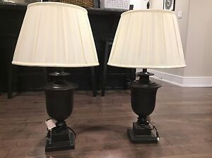 Stately Table Lamp Set