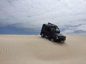Land Rover Defender 90 2014 Southbank Melbourne City Preview