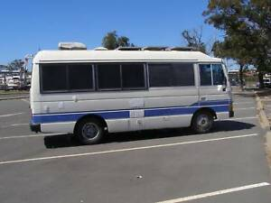 NISSAN CIVILIAN MOTORHOME 1987 - full of extras for Free Camping!