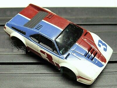 AFX BMW M1 Super Car Body Only Used (Fits most AFX, Tomy chassis) SHIPS @ $3.99