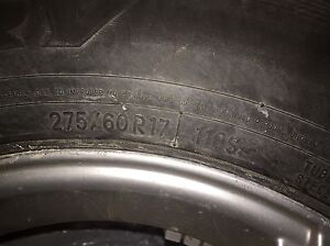 WINTER TIRES: toyo open country 275/60/17 on FAST MAGS 7mm left West Island Greater Montréal image 3