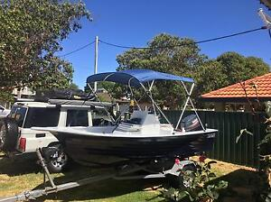 15ft fibreglass center console 70hp Yamaha Doubleview Stirling Area Preview