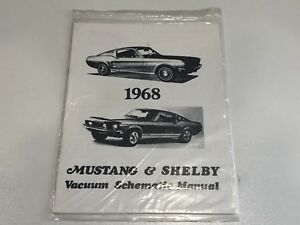 Sensational 1968 Mustang Shelby Vacuum Schematic Manual New Other Parts Wiring Digital Resources Arguphilshebarightsorg