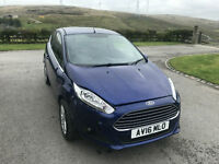 Ford FIESTA 1.25 ZETEC 2016 (16) DAMAGED REPAIRABLE