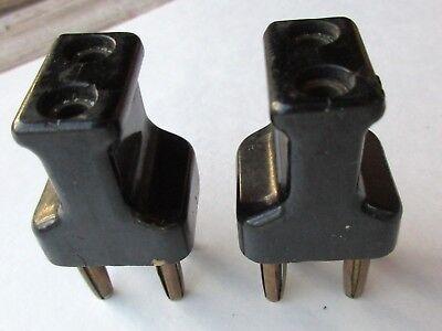 Vintage 2 Pin Female Plug to 4 pin Male Plug TIKI15Tz7 Bakelite Tube Radio 1920s
