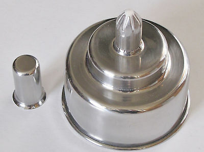 Stainless Steel Alcohol Burner 200 Ml 6.7 Oz Spirit Lamp Torch Lab Dental New