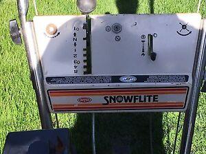 Good Snowblower ready to go