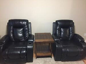 Leather Theatre Style Recliners