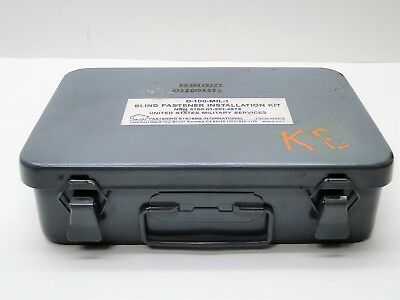Fsi D-100-mil-1 Riveter Kit Metal Case Aircraft Tools