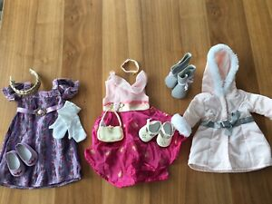 American Girl doll clothes (evening gloves set)