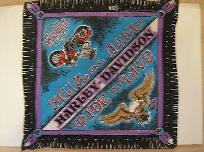 HARLEY-DAVIDSON SCARF - RIDE TO LIVE