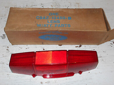 1969 1970 Ford Ranch Wagon Country Sedan Squire NOS RH REAR TAIL LIGHT LAMP LENS