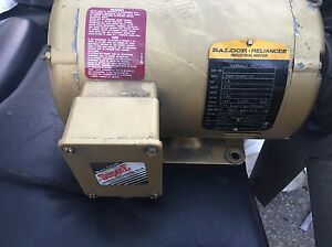 Moteur Baldor 1.5 hp thermally protected