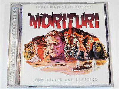 reputable site a6fef b6a24 Jerry Goldsmith MORITURI David Shire RAID ON ENTEBBE Soundtrack CD Near Mint