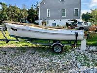 1975 O'Day 14' Day Sailer Located in East Falmouth, MA - Has Trailer