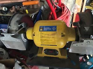 Power Fist Bench Grinder and stand $95 obo Edmonton Edmonton Area image 1