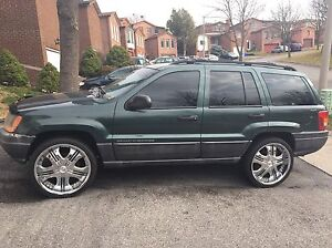 2001 Jeep Cherokee with free winter tires!