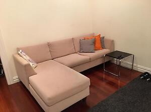Modern 3 seater couch with chaise Edgecliff Eastern Suburbs Preview