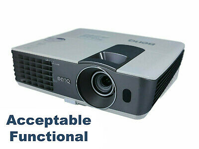 Benq MX711 - DLP Projector - Acceptable Functional, HDMI HD w/Power Cable